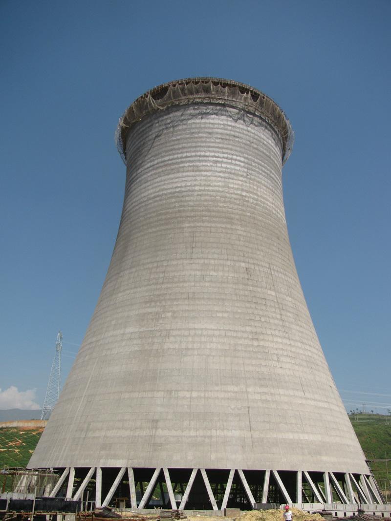 拆除冷却水塔